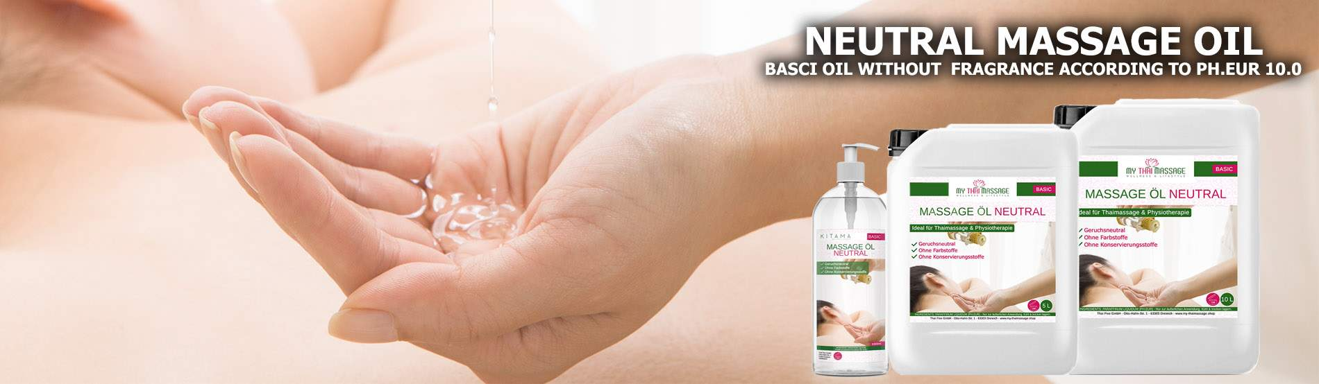 Basic Massage Oil Neutral